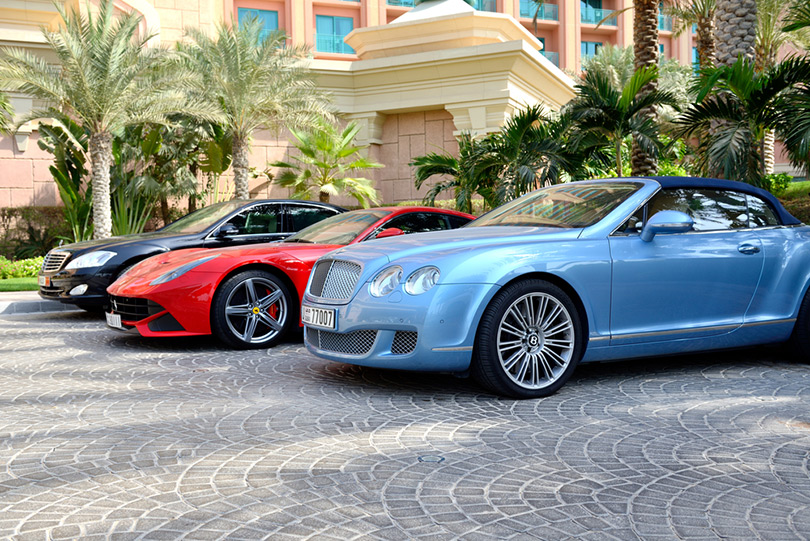 Rent a Bentley in Dubai